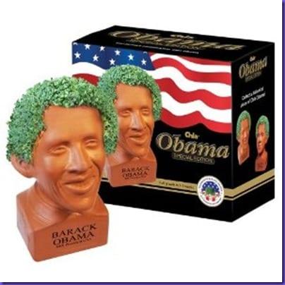 ObamaChiaPetHappy
