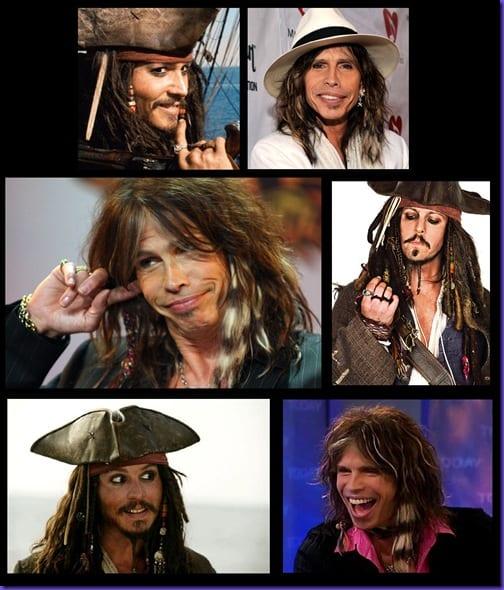 Steven Tyler Captain Jack Sparrow