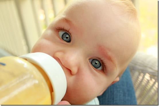Baby Drinking Less Milk