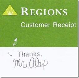 Regions Deposit Slips Mr Alex