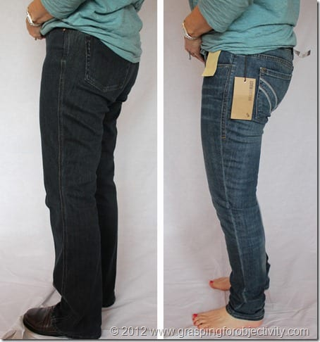 Subject C Skinny Jean Side
