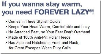 Forever Lazy Features