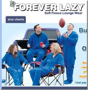 Forever Lazy Tailgating