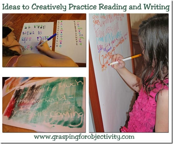 Reading Writing Practice