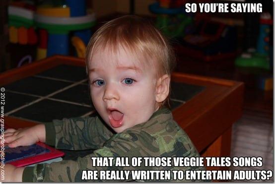Noah Memes on Veggie Tales