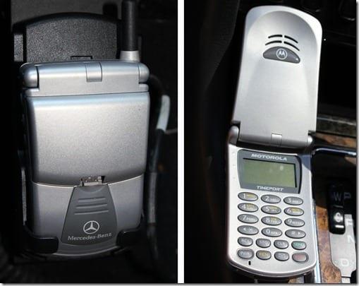 Mercedes Flip Phone