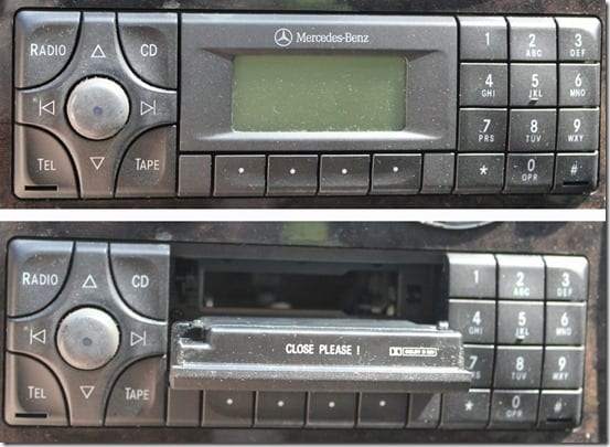 Mercedes Tape Deck