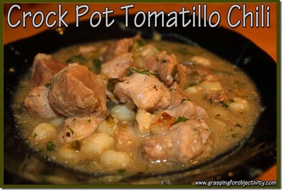 Crock Pot Tomatillo Chili