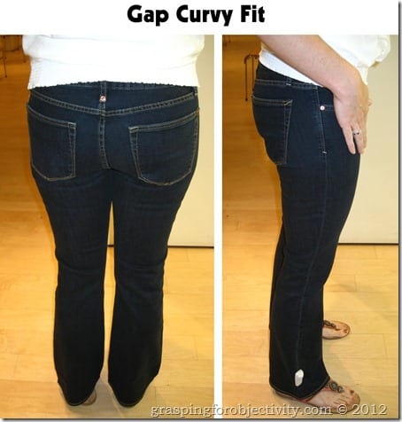 Gap Curvy Fit