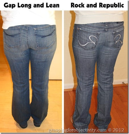 Gap Long and Lean Vs Rock and Republic
