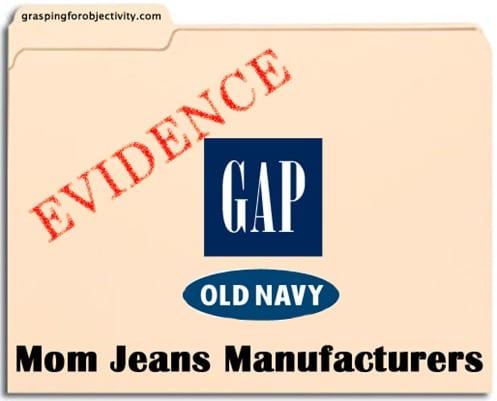 da75e01a56ea Gap and Old Navy Make Mom Jeans
