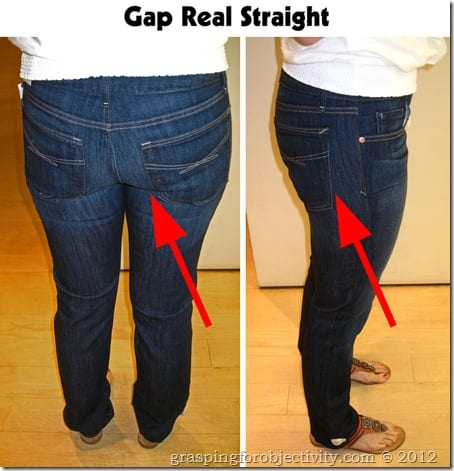Gap Real Straight Problem Areas