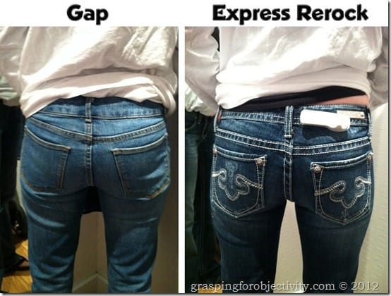 Gap and Old Navy Make Mom Jeans | Grasping for Objectivity