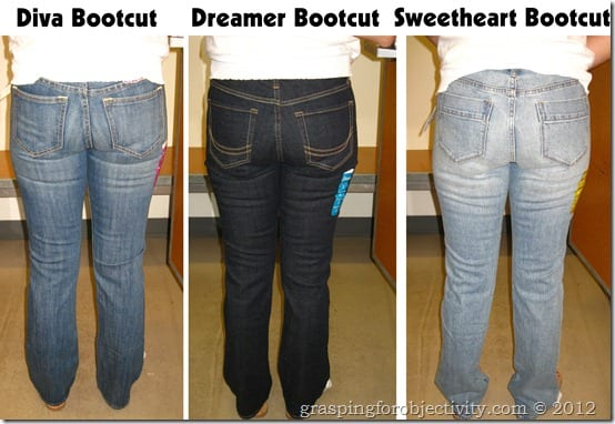 Old Navy Bootcut Comparison