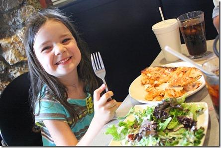 Slice Pizza Likes Kids