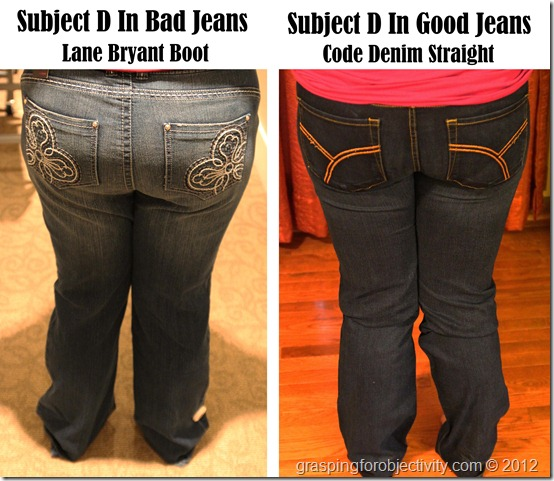 Jeans for Most of America: A detailed guide on buying great, flattering jeans for the plus-sized woman.