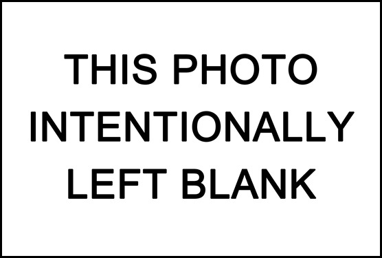 This Photo Intentionally Left Blank