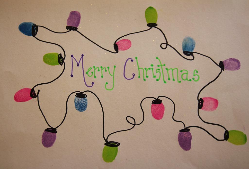 Christmas Lights Crafts For Preschoolers