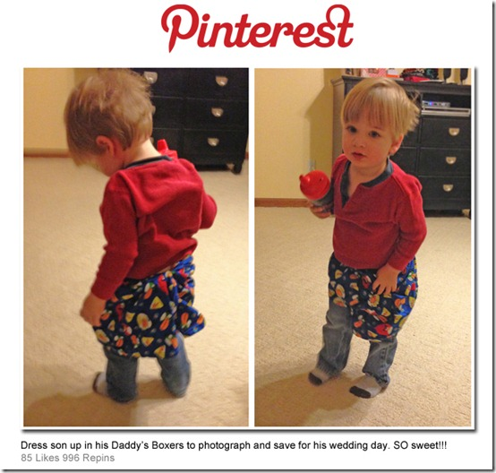 Daddy's Boxers Pinterest