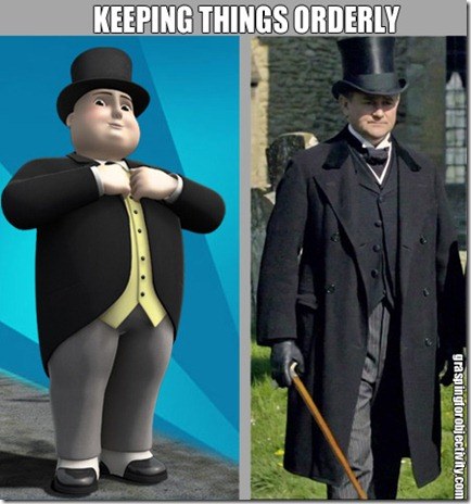 Sir Topham Hatt and Lord Grantham