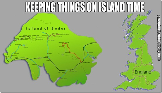 Sodor and England