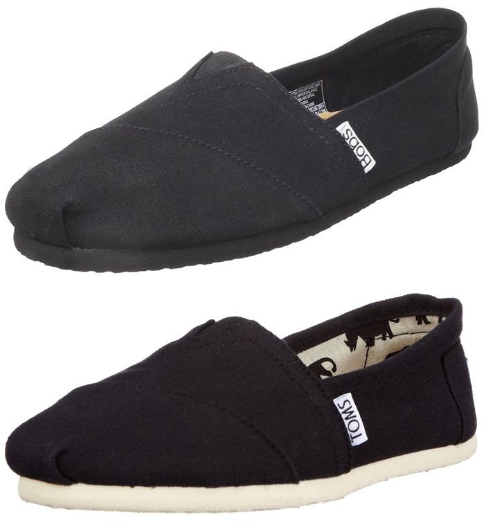 Black Toms Shoes Mens