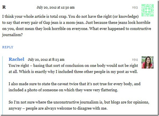 Gap Comment 2 2