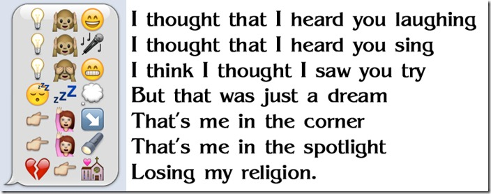 Losing My Religion Lyrics