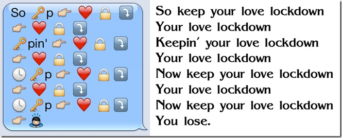 Love Lock Down lyrics