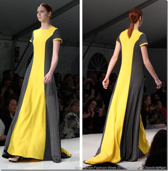 Anthony Ryan Yellow Dress