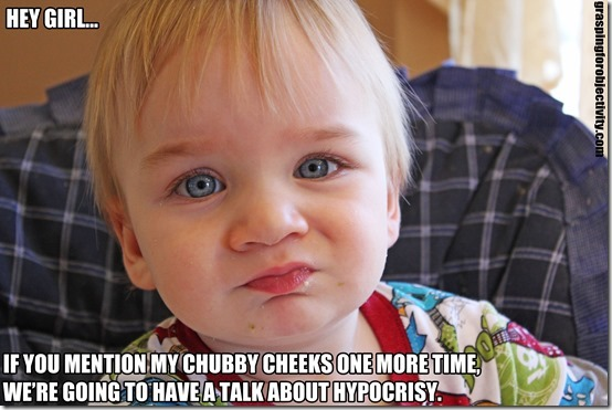Noah on Cheeks