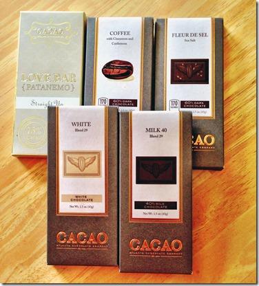 Cacao Atlanta Chocolate Bars