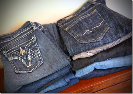 Pile of Jeans