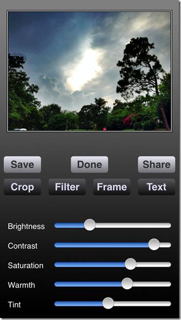 ProHDR Screenshot