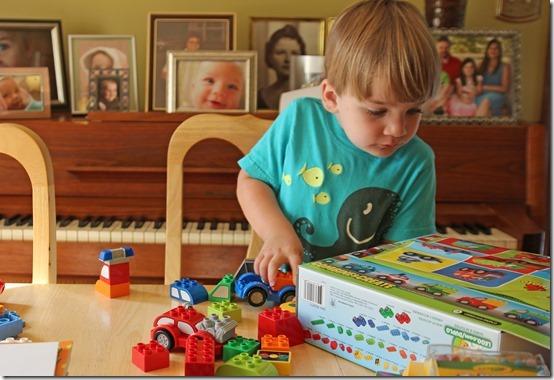Lego Duplo Build-A-Car Set