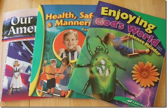 A Beka Second Grade History Health Science