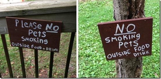 No Smoking Pets