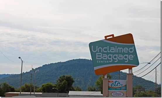 Unclaimed Baggage in Scottsboro, Alabama