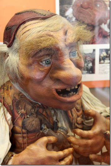 Hoggle at Unclaimed Baggage