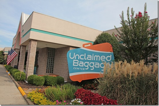 Unclaimed Baggage in Scottsboro Alabama