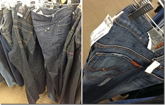 Mens Jeans Unclaimed Baggage