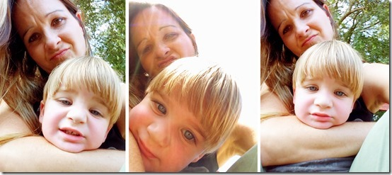 Pumpkin Patch Selfies