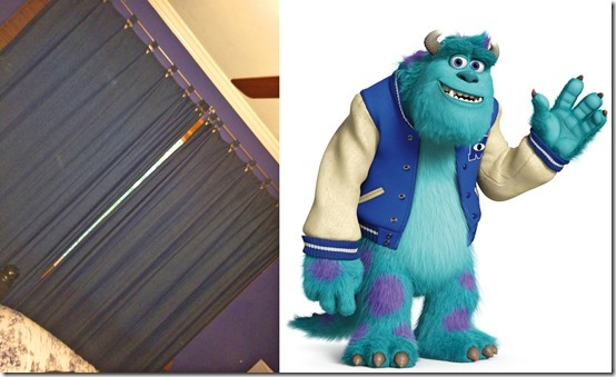 Sulley Curtains