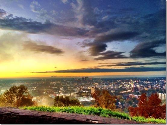 Birmingham Alabama Sunset