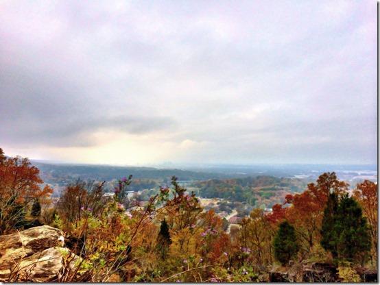 Ruffner Mountain Nature Preserve View in Birmingham Alabama