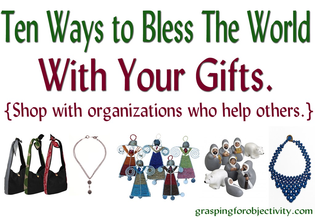 Christmas Shopping: Ten Ways to be a Double Blessing. | Grasping for ...