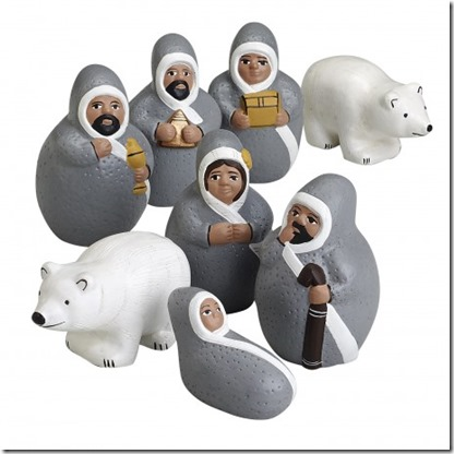 Ten Thousand Villages Arctic Nativity
