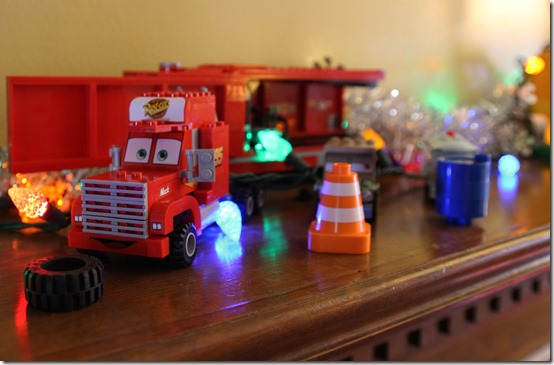 Lego Cars Nativity Scene