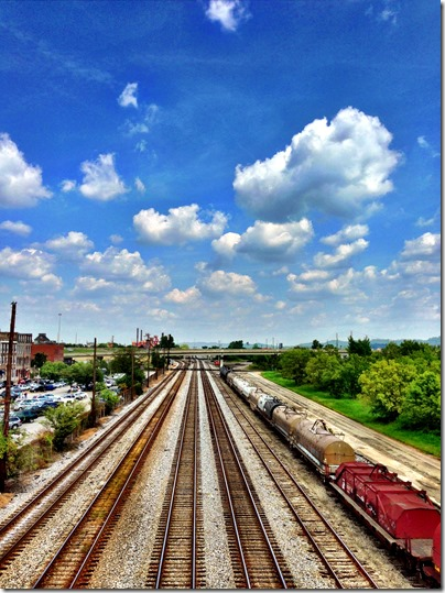 Train Tracks, Downtown Birmingham Alabama
