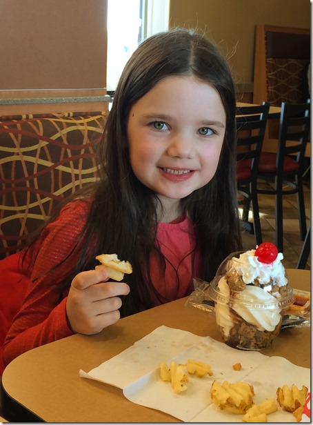 Chick-Fil-A Birthday Sundae